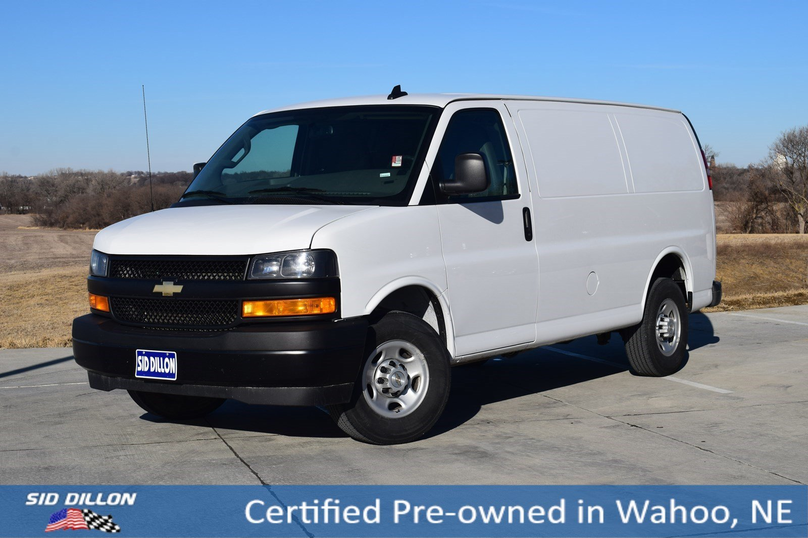 Certified Pre-Owned 2018 Chevrolet Express Cargo Van 2500 RWD 135