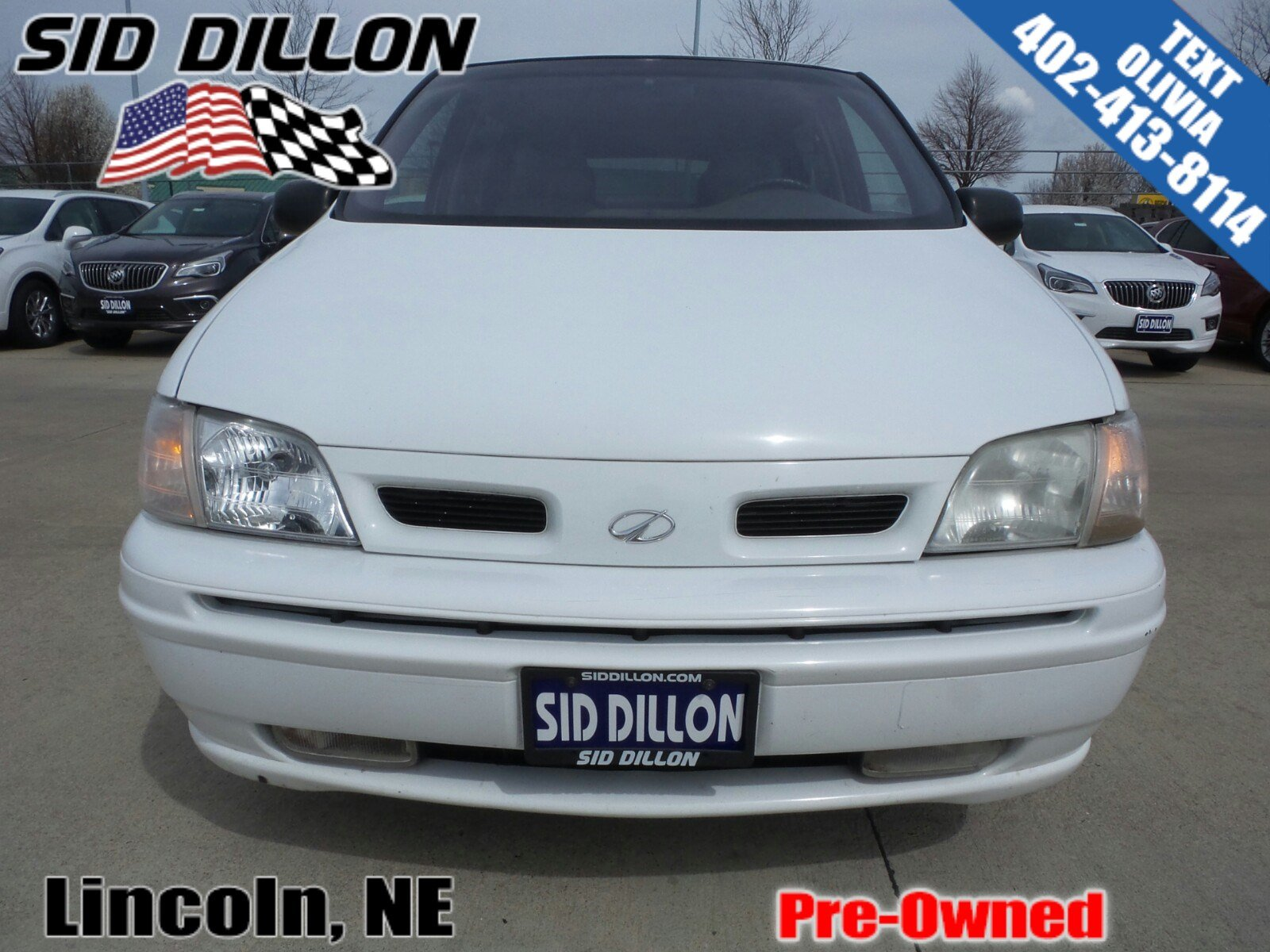 Pre owned 1999 oldsmobile silhouette gls