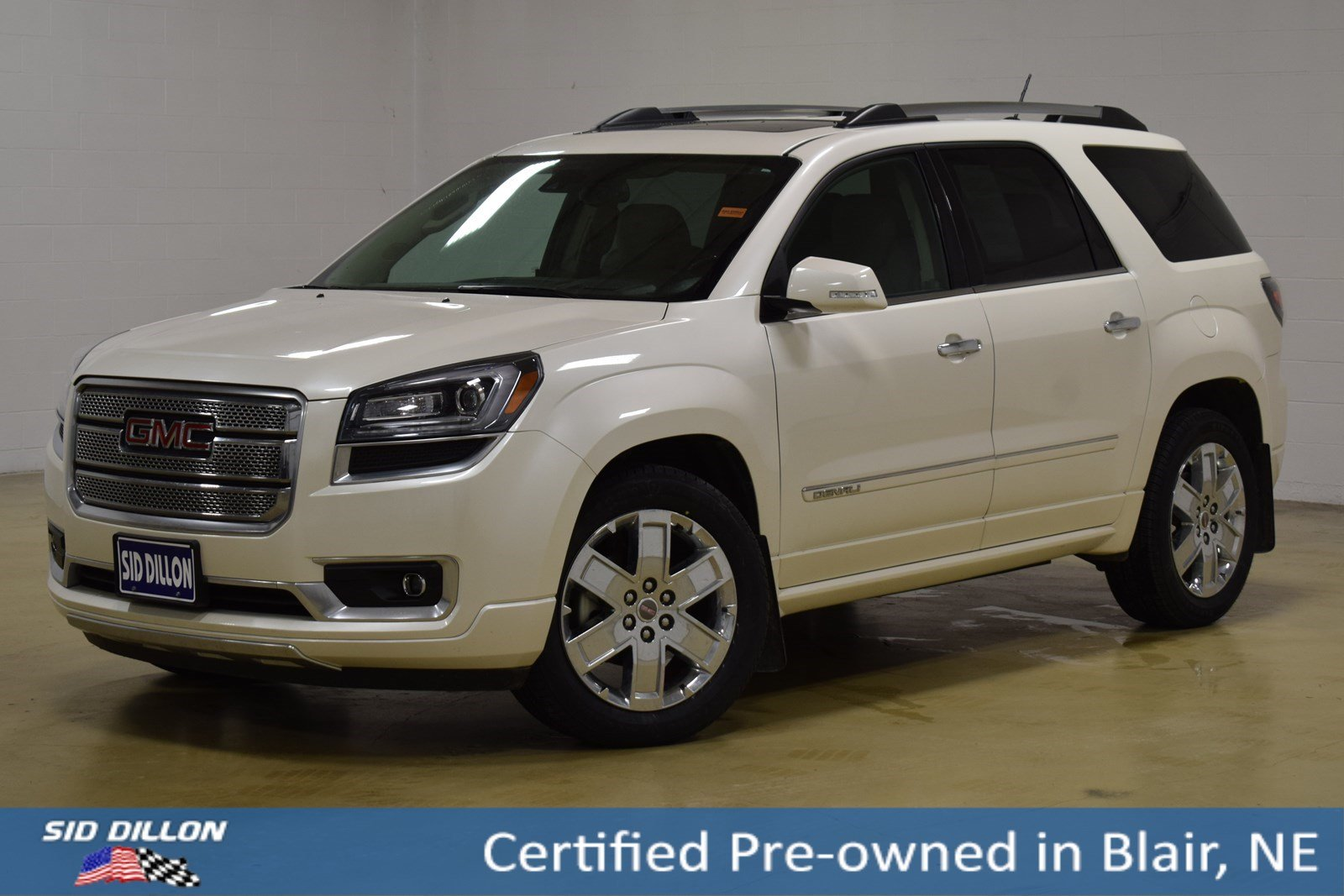 Certified Pre-Owned 2015 GMC Acadia Denali