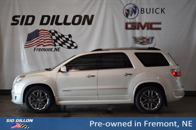 Pre-Owned 2012 GMC Acadia Denali With Navigation & AWD