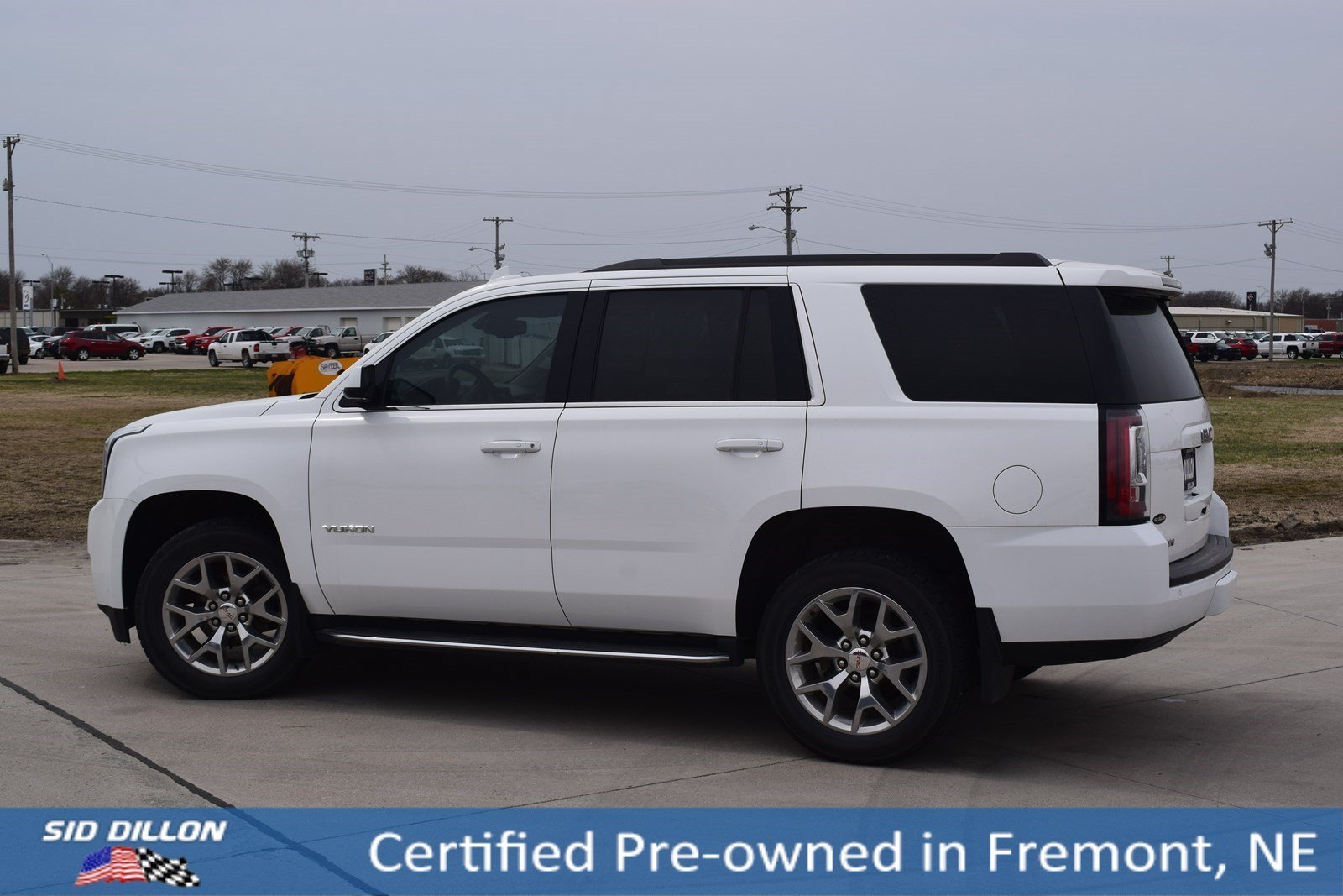 Certified Pre Owned 2017 Gmc Yukon Slt Suv In Fremont 1t3048g Sid Dillon Auto Group