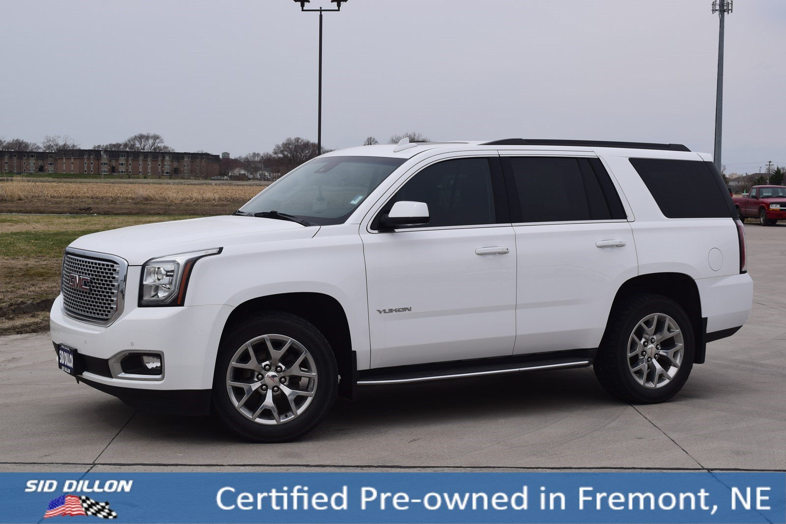 Certified Pre Owned 2017 Gmc Yukon Slt