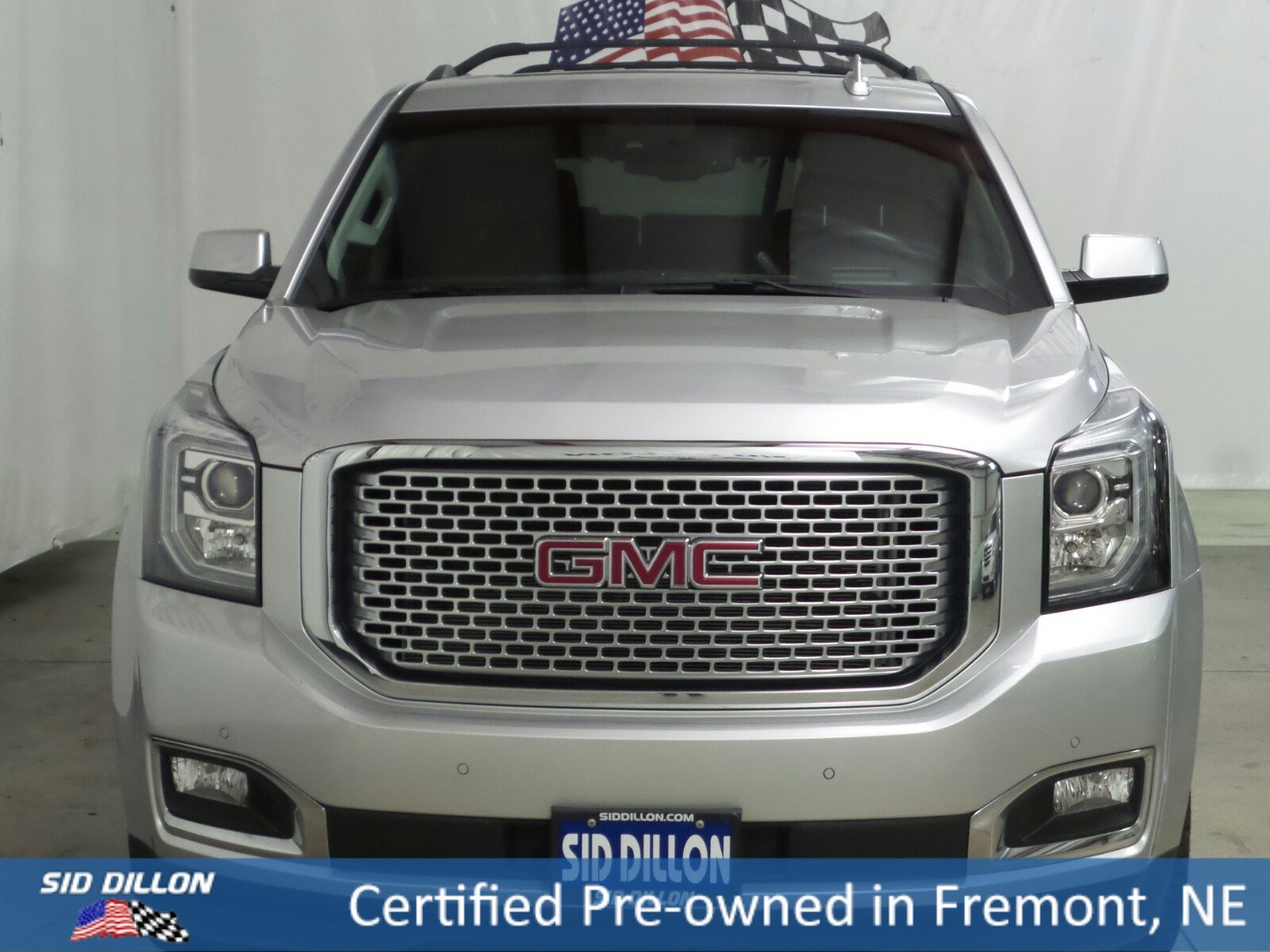 Certified Pre Owned 2015 GMC Yukon Denali SUV in Fremont 2U