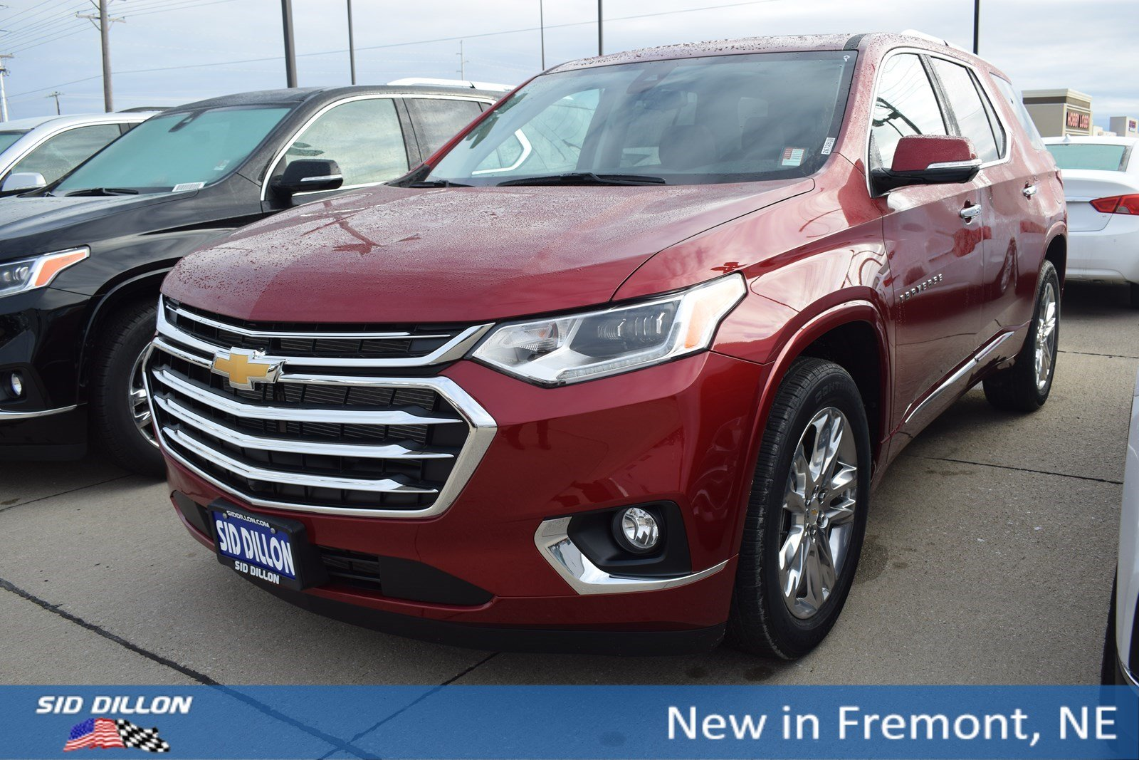 New 2020 Chevrolet Traverse High Country Suv In Fremont 1t20544