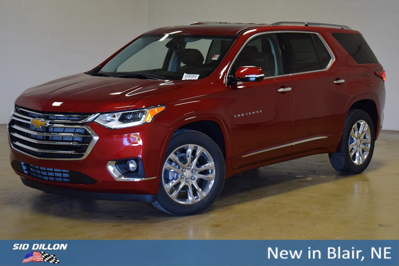 New 2020 Chevrolet Traverse High Country Suv In Blair 320110