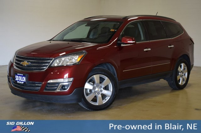 Pre-Owned 2015 Chevrolet Traverse LTZ With Navigation & AWD