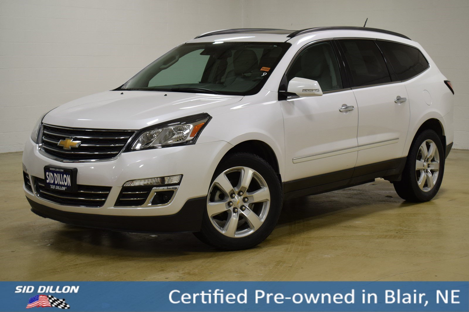 Certified Pre Owned 2016 Chevrolet Traverse Ltz