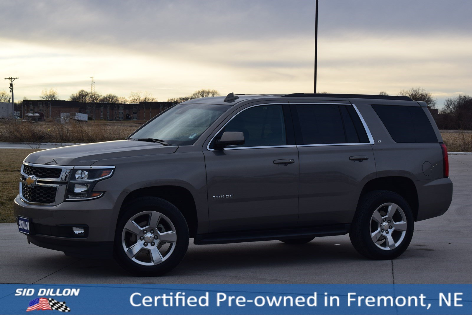 Certified Pre Owned 2017 Chevrolet Tahoe Lt