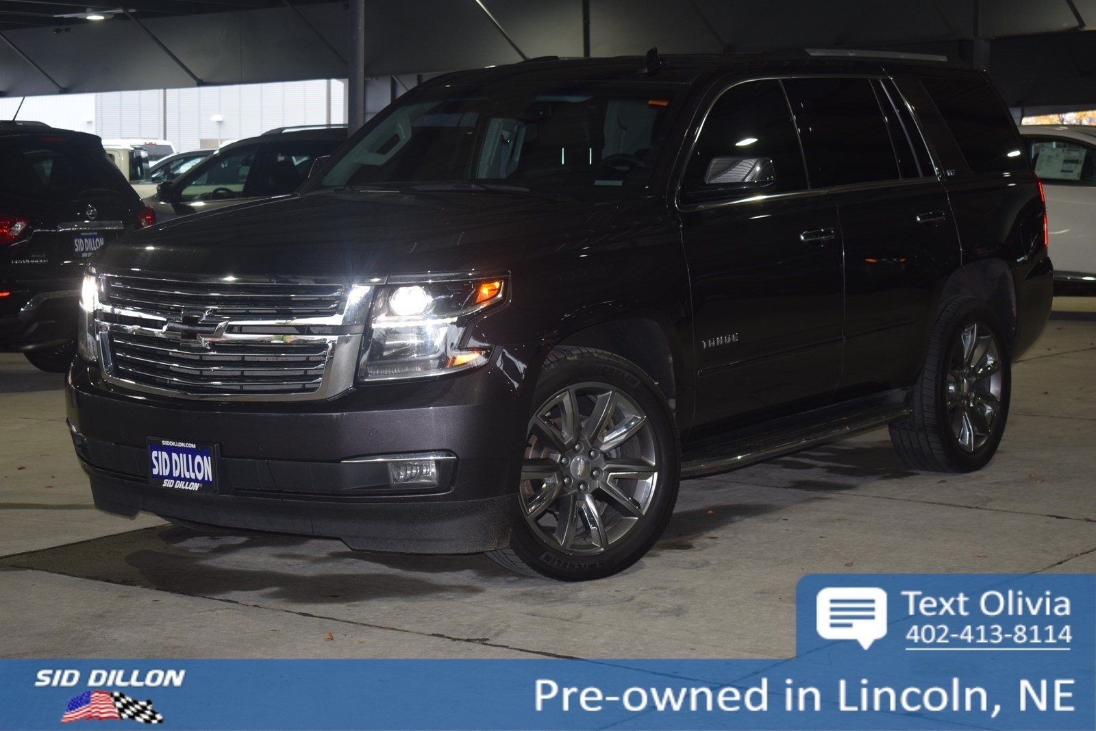 Pre Owned 2015 Chevrolet Tahoe Ltz Suv In Lincoln 4u6066b Sid Chevy