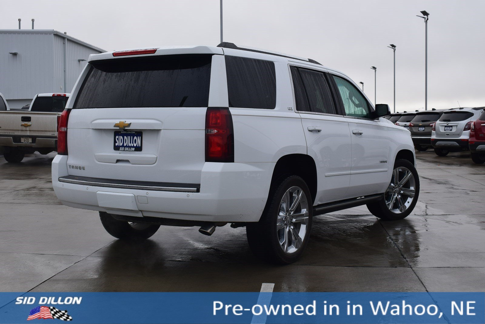 Pre Owned 2016 Chevrolet Tahoe Ltz Suv In Wahoo 5k081a Sid Dillon Auto Group