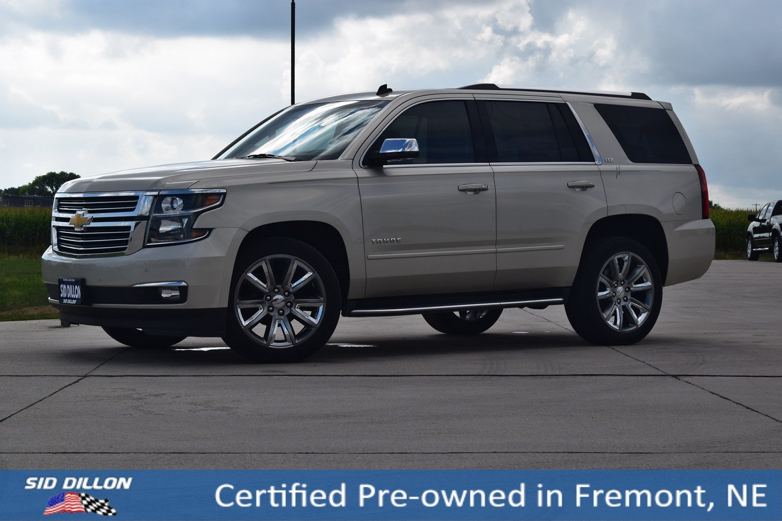 Certified Pre Owned 2015 Chevrolet Tahoe Ltz Suv In Fremont 1t2011g Chevy Chrome Roof Rack