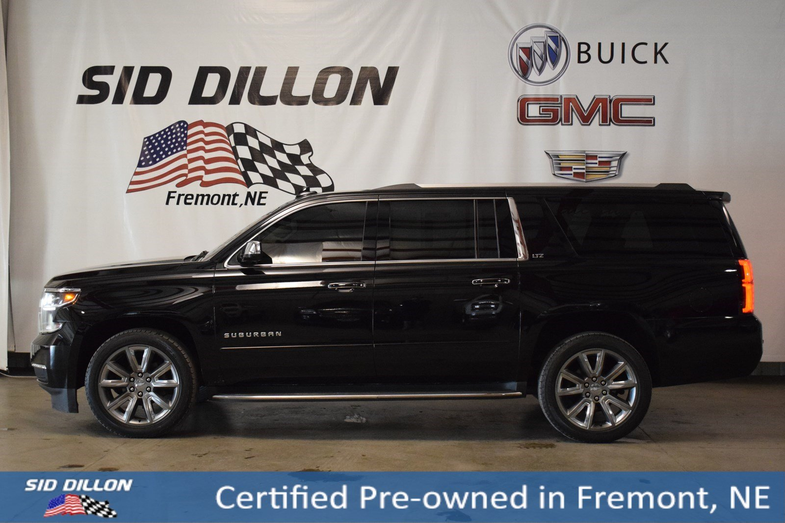 Certified Pre-Owned 2016 Chevrolet Suburban LTZ