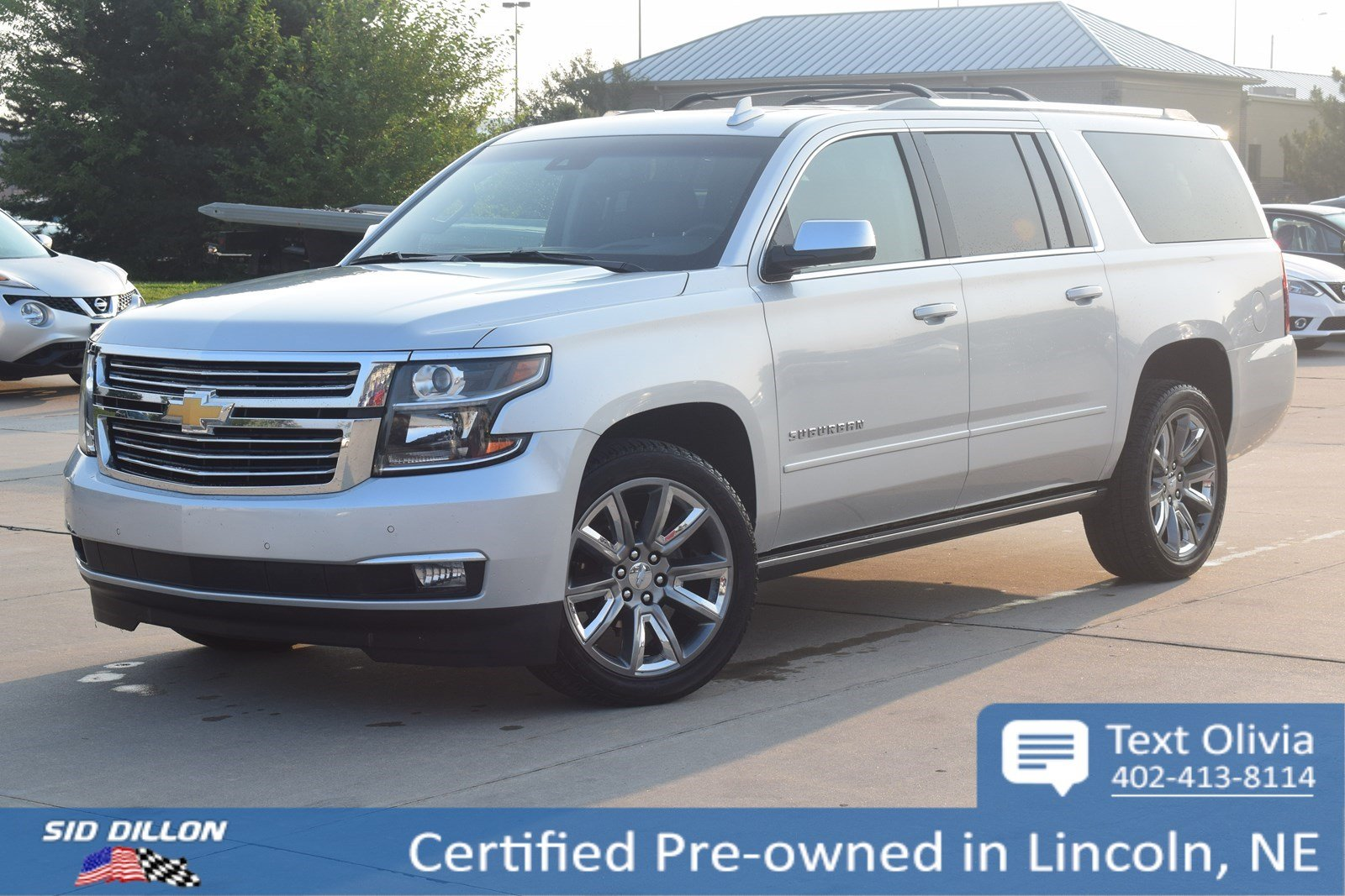 Certified Pre Owned 2018 Chevrolet Suburban Premier Suv In Lincoln Highbeam Hid Wiring Harness