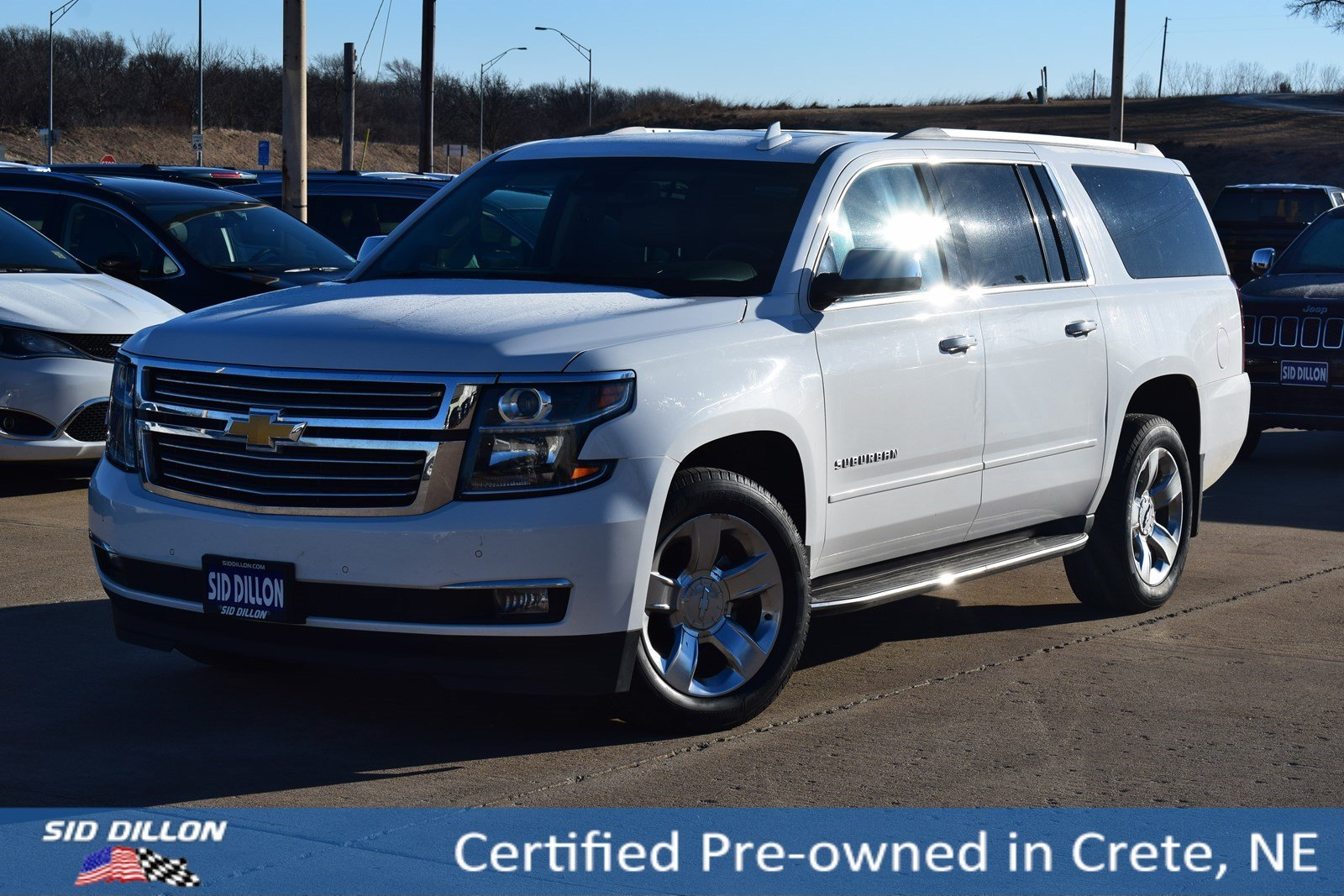 Certified Pre Owned 2017 Chevrolet Suburban Premier