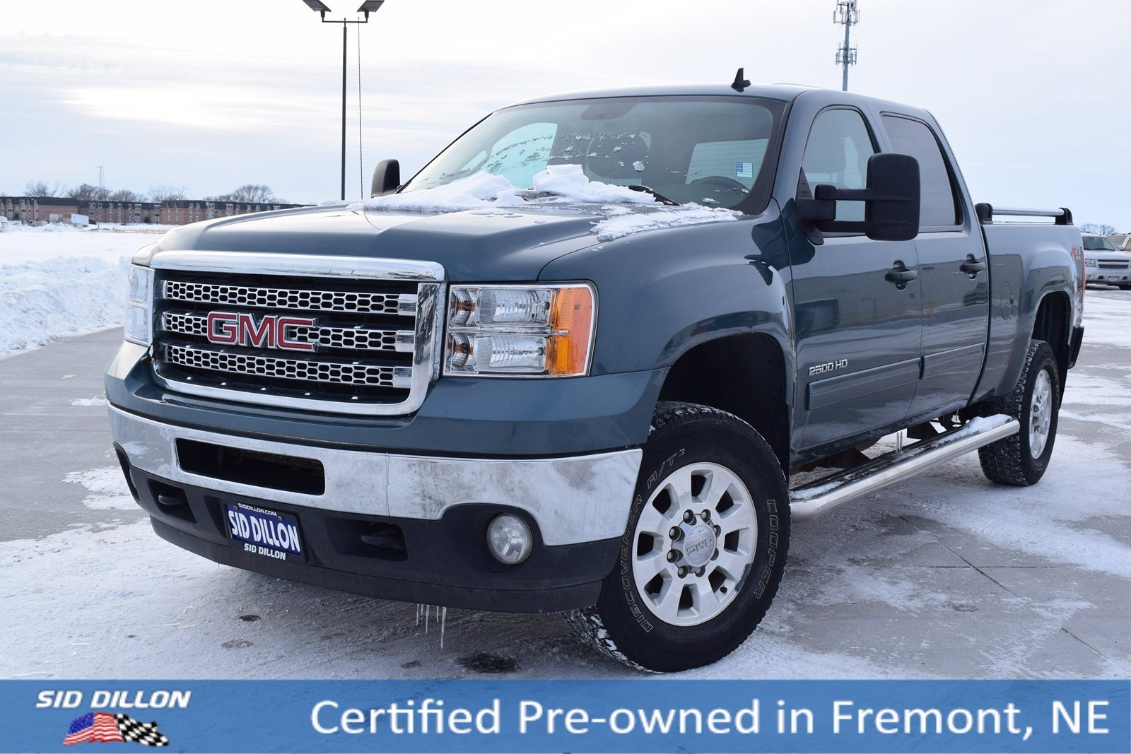 Certified Pre-Owned 2014 GMC Sierra 2500HD SLE