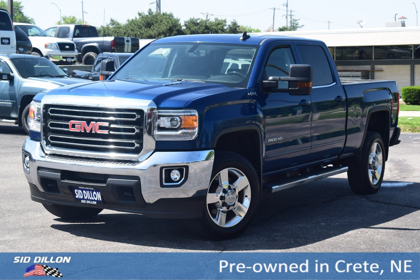 Pre Owned 2016 Gmc Sierra 2500hd Sle