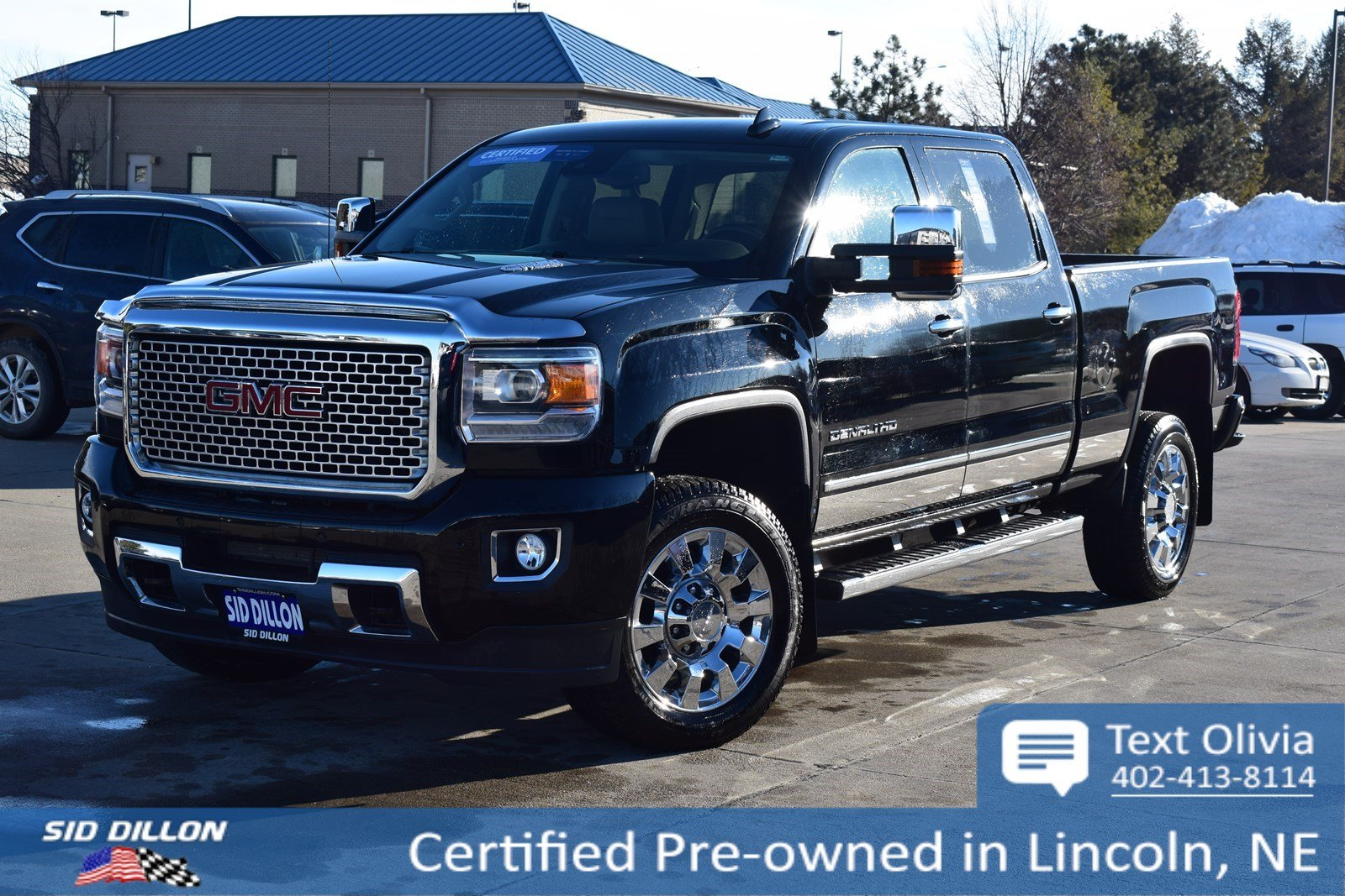 Certified Pre Owned 2016 Gmc Sierra 2500hd Denali