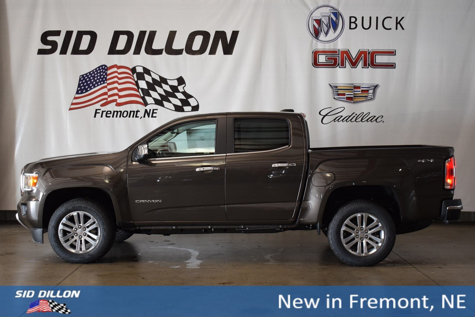 New 2019 Gmc Canyon 4wd Slt Crew Cab In Fremont 2g19042 Sid