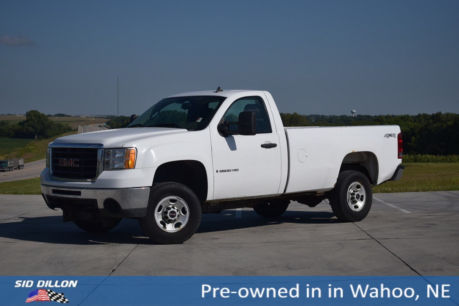 Pre-Owned 2008 GMC Sierra 2500HD Work Truck