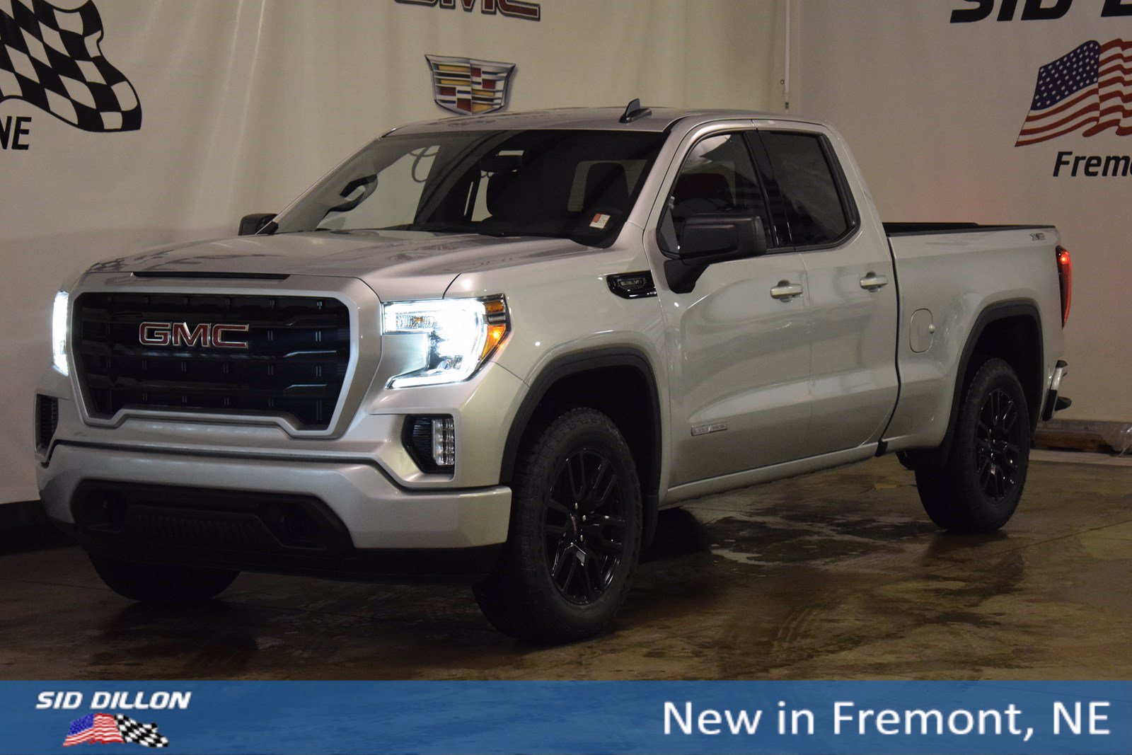 New 2020 Gmc Sierra 1500 Elevation Extended Cab In Fremont 2g20464 Sid Dillon