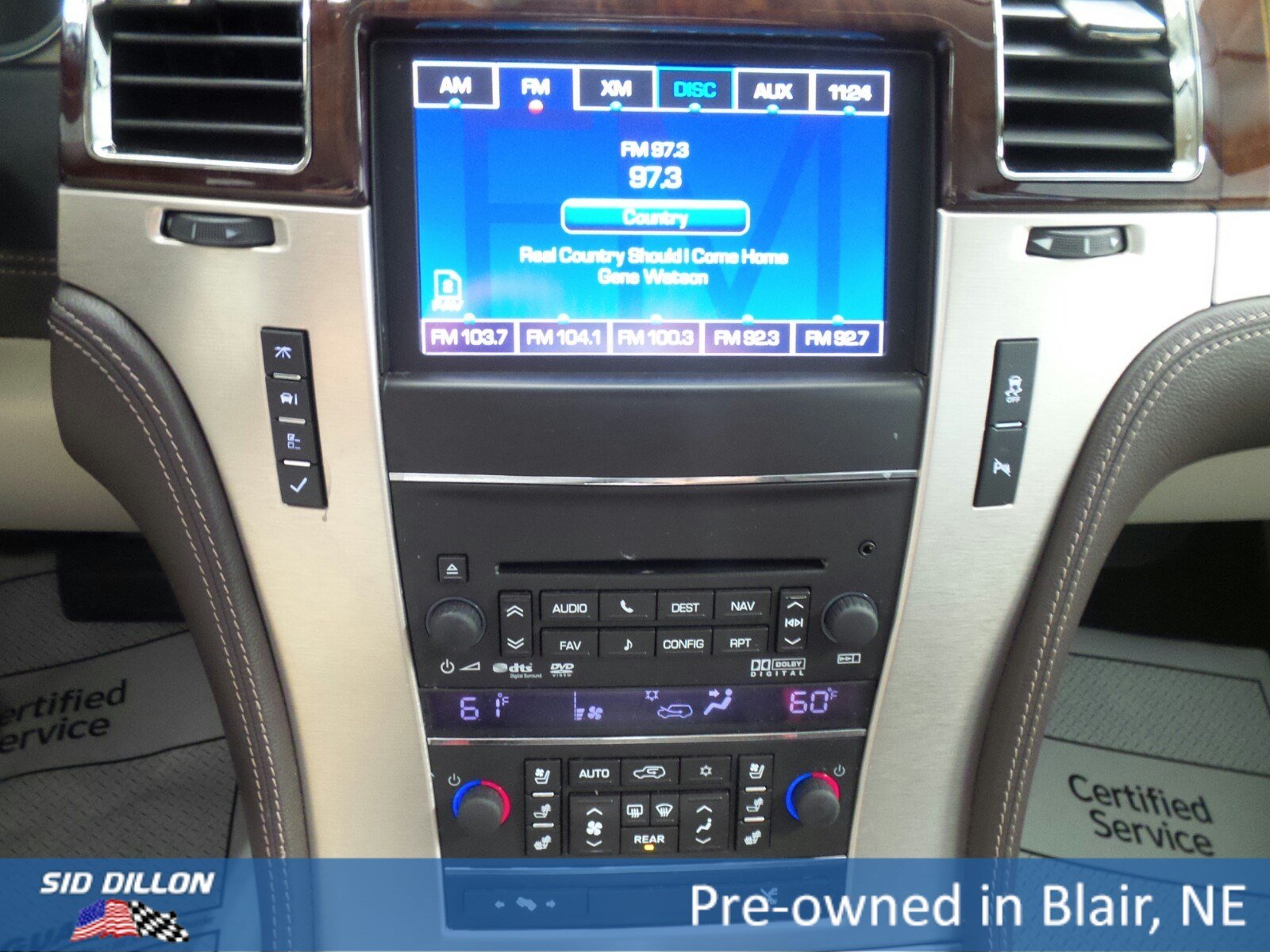 Pre Owned 2014 Cadillac Escalade Platinum SUV in Blair A