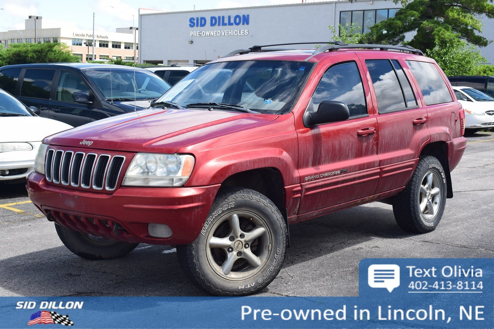 Pre Owned 2002 Jeep Grand Cherokee Limited