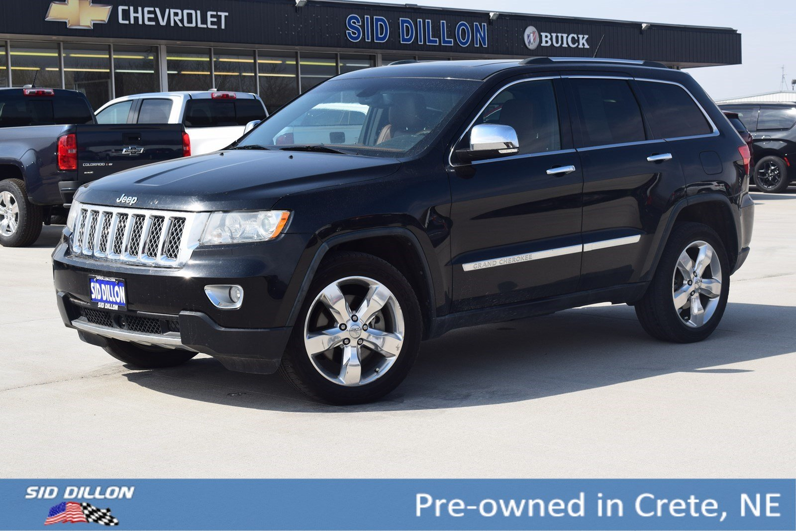 Pre Owned 2011 Jeep Grand Cherokee Overland Summit