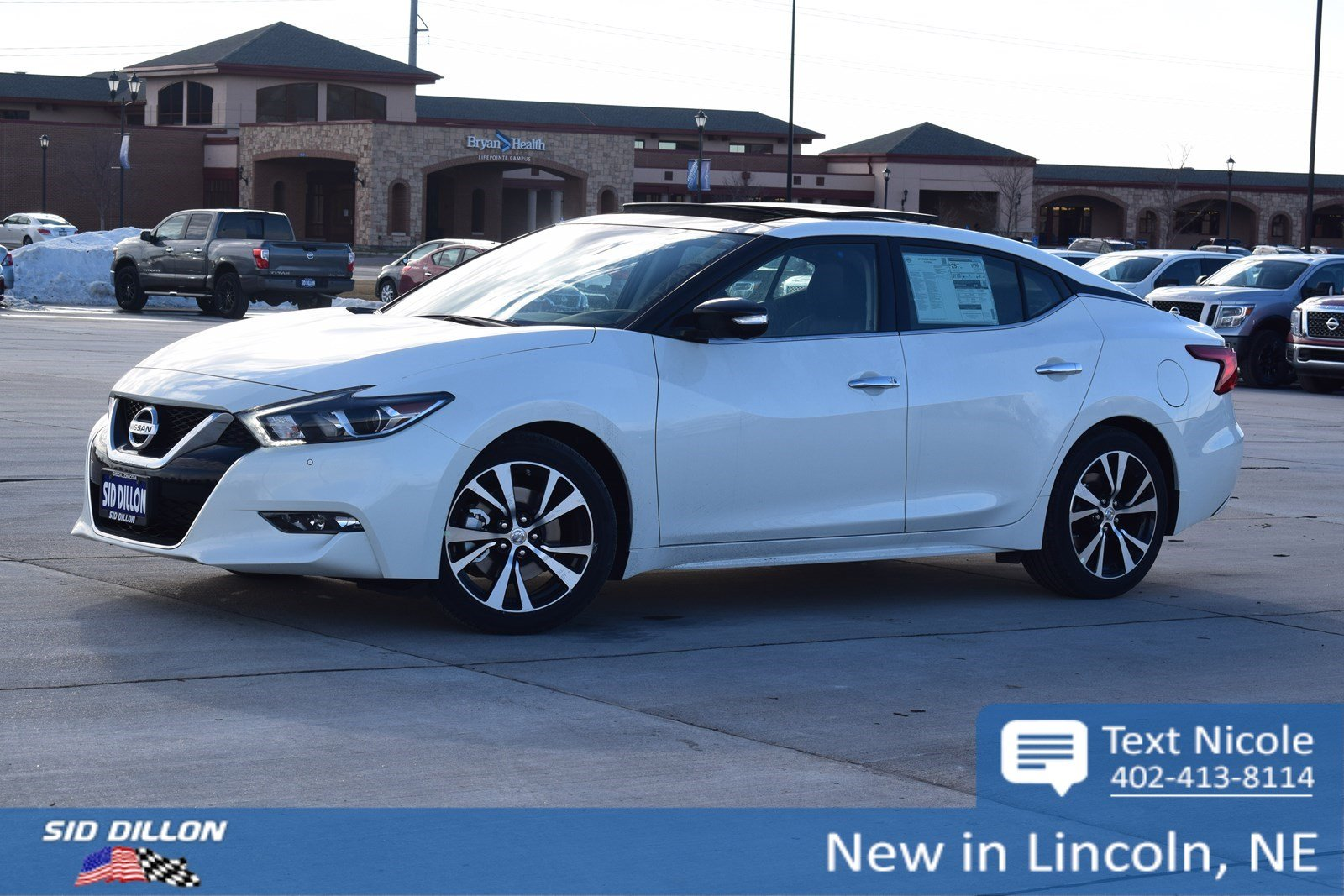 New 2018 Nissan Maxima Platinum 4 Door Sedan In Lincoln