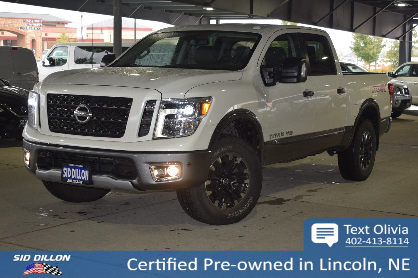 Certified Pre-Owned 2018 Nissan Titan PRO-4X