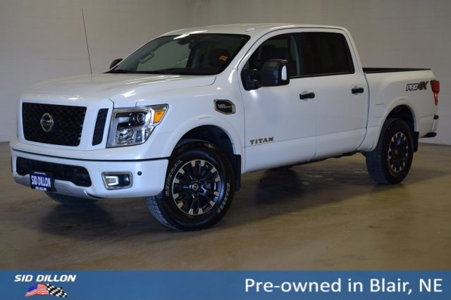 Pre Owned 2017 Nissan Titan Pro 4x 4wd
