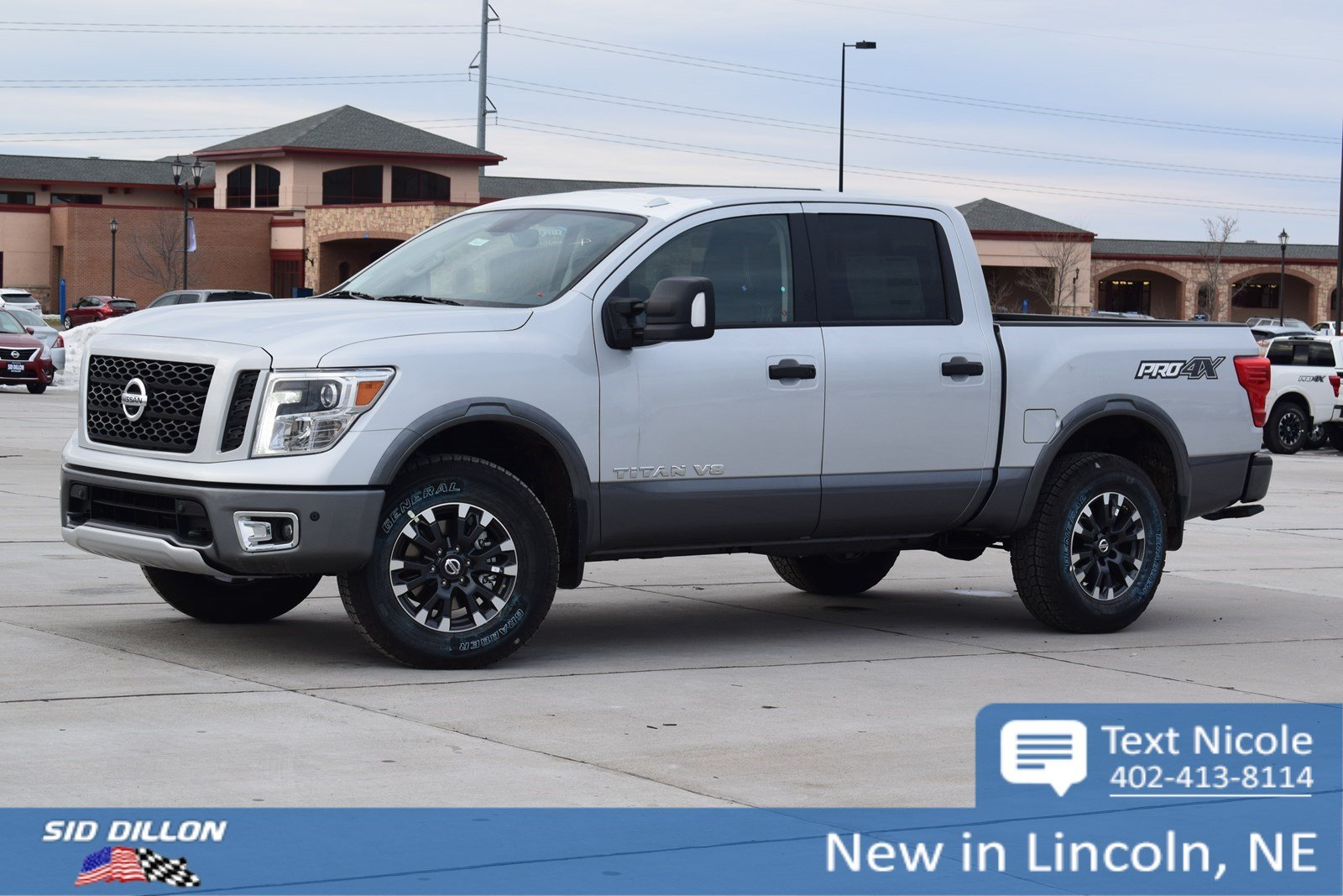 New 2018 Nissan Titan PRO 4X Crew Cab in Lincoln 4N