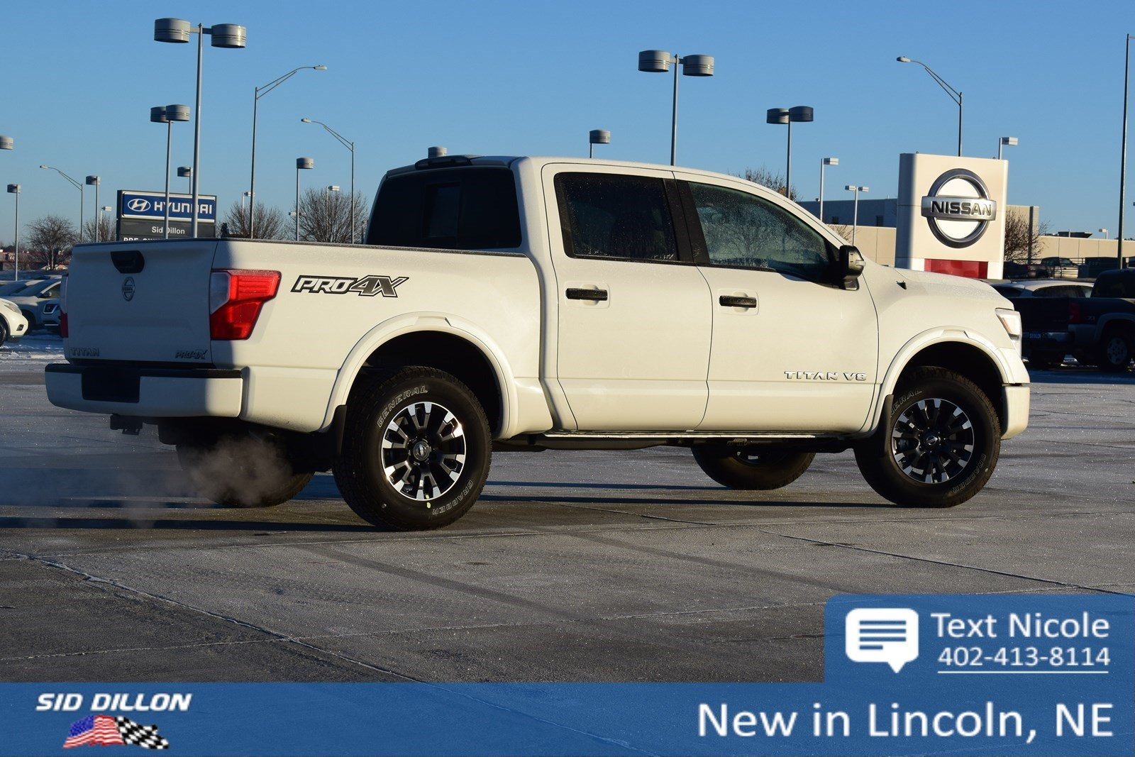 New 2018 Nissan Titan Pro 4x Crew Cab In Lincoln 4n18149 Sid Dillon Auto Group