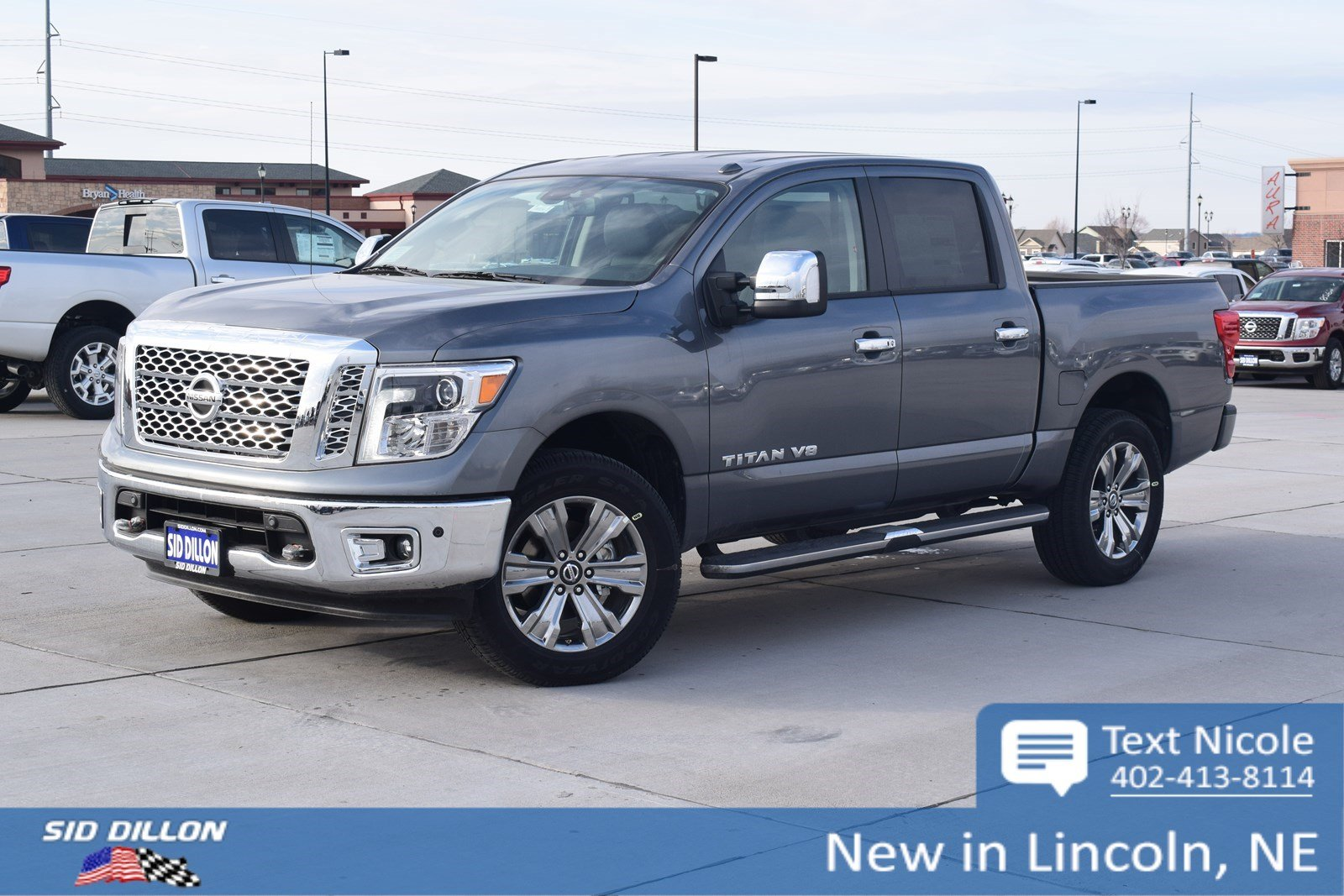 New 2018 Nissan Titan Sl Crew Cab In Lincoln 4n18156
