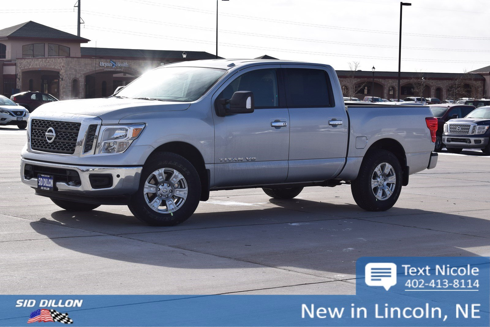 New 2018 Nissan Titan Sv Crew Cab In Lincoln 4n18145 Sid Dillon 1999 3500 Dodge Transfer Case Vacume Lines