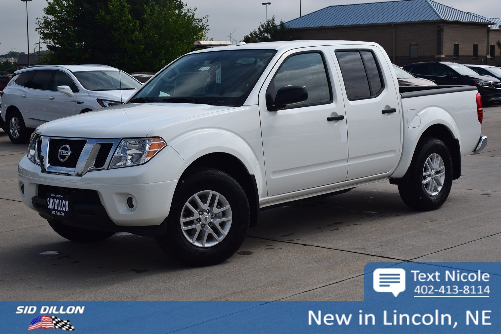 new 2018 nissan frontier sv v6 crew cab in lincoln 4n18439 sid