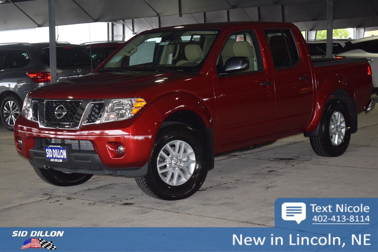 New 2019 Nissan Frontier Sv Crew Cab In Lincoln 4n1914 Sid Dillon