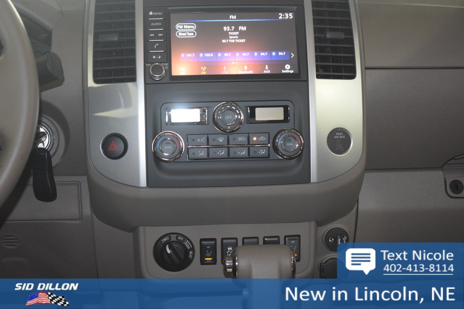 New 2019 Nissan Frontier Sv Crew Cab In Lincoln 4n1914 Sid Dillon Front Airbag Sensor 2002 Xterra