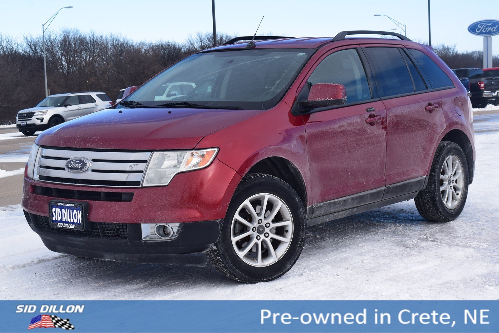 Pre owned 2009 ford edge sel