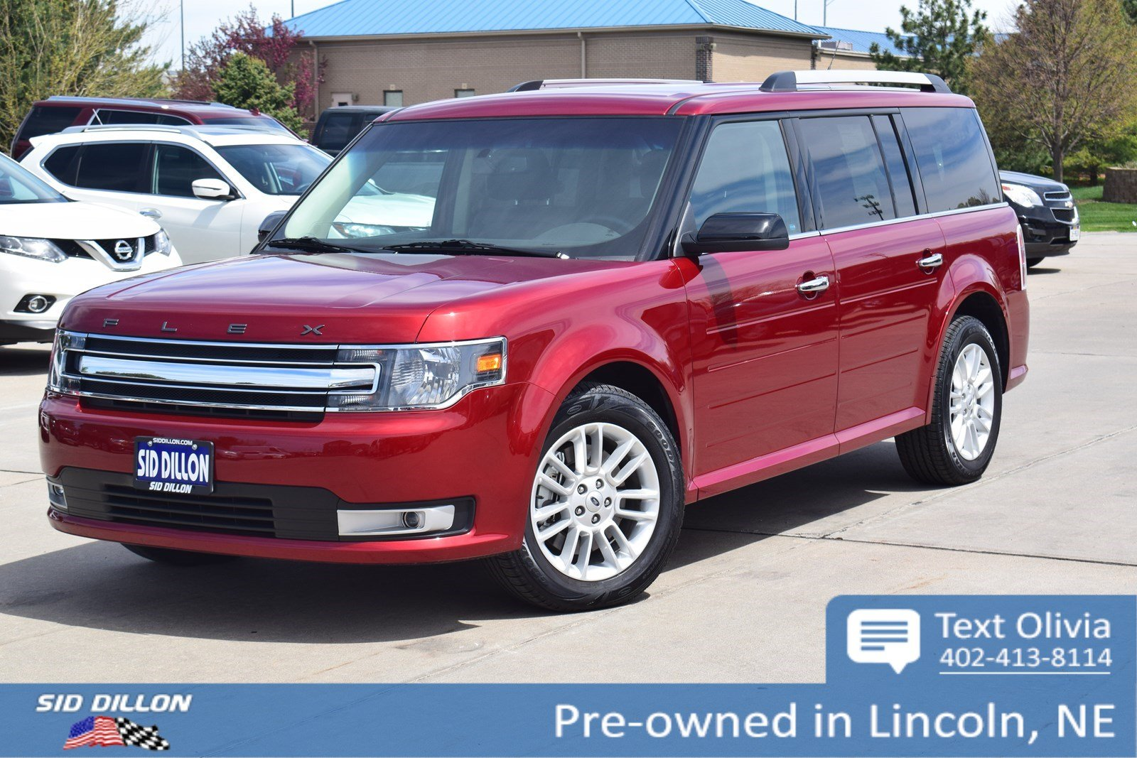 Pre Owned 2018 Ford Flex Sel