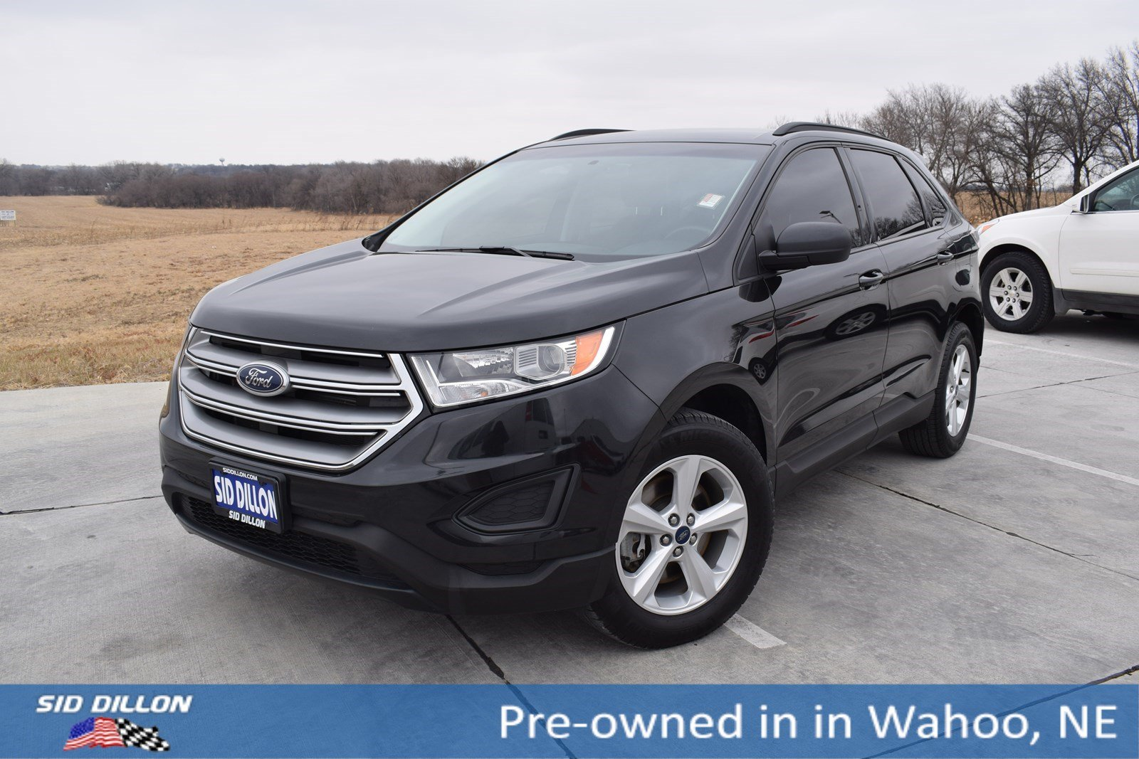 pre owned 2015 ford edge se suv in wahoo 5h924a sid dillon auto group. Black Bedroom Furniture Sets. Home Design Ideas
