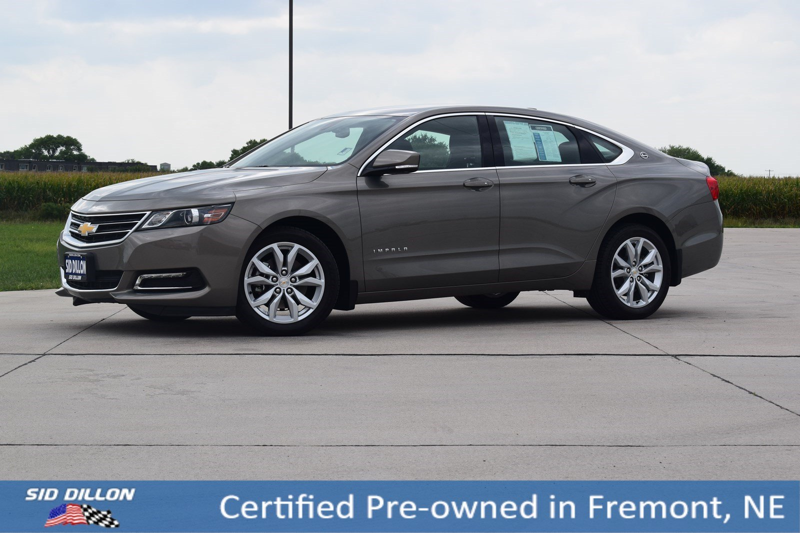Certified Pre-Owned 2018 Chevrolet Impala LT