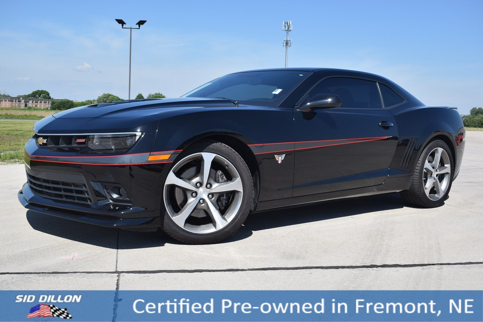 Certified Pre-Owned 2015 Chevrolet Camaro SS
