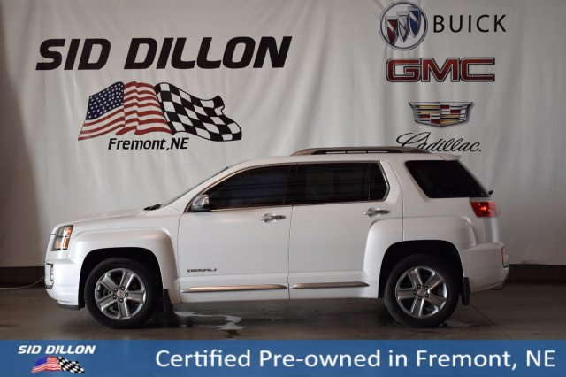 Sid Dillon Fremont Ne >> Certified Pre Owned 2016 Gmc Terrain Denali With Navigation Awd