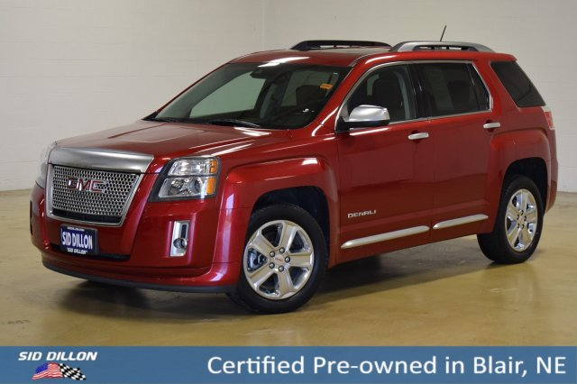 Certified Pre-Owned 2015 GMC Terrain Denali