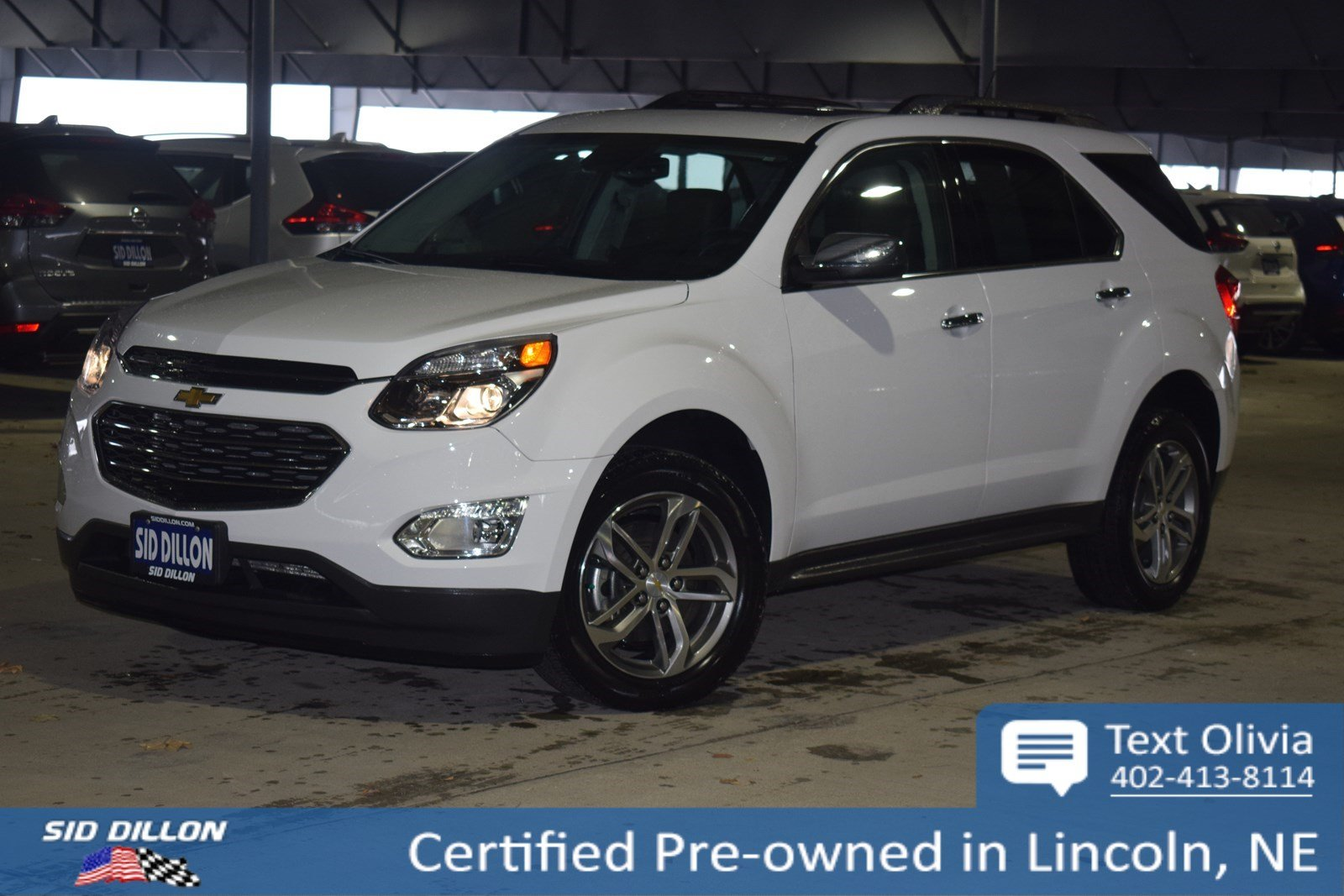 Certified Pre Owned 2016 Chevrolet Equinox Ltz