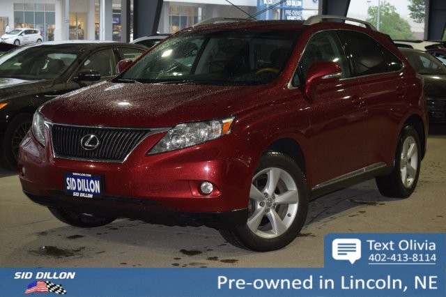 Pre-Owned 2012 Lexus RX 350 4DR AWD