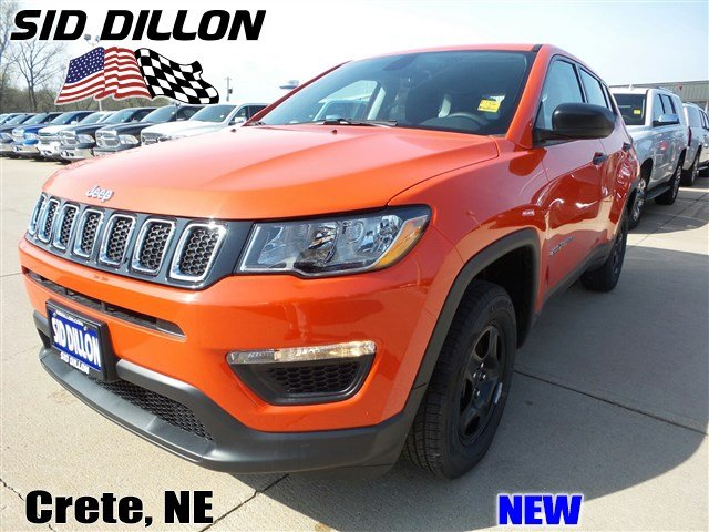 New 2017 Jeep Compass Sport 4WD