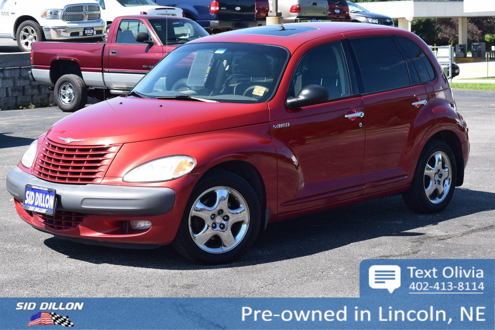Pre-Owned 2001 Chrysler PT Cruiser 4DR BASE