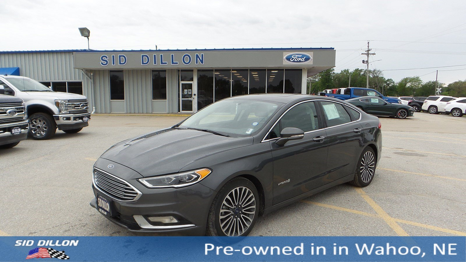 Pre Owned 2017 Ford Fusion Hybrid Anium