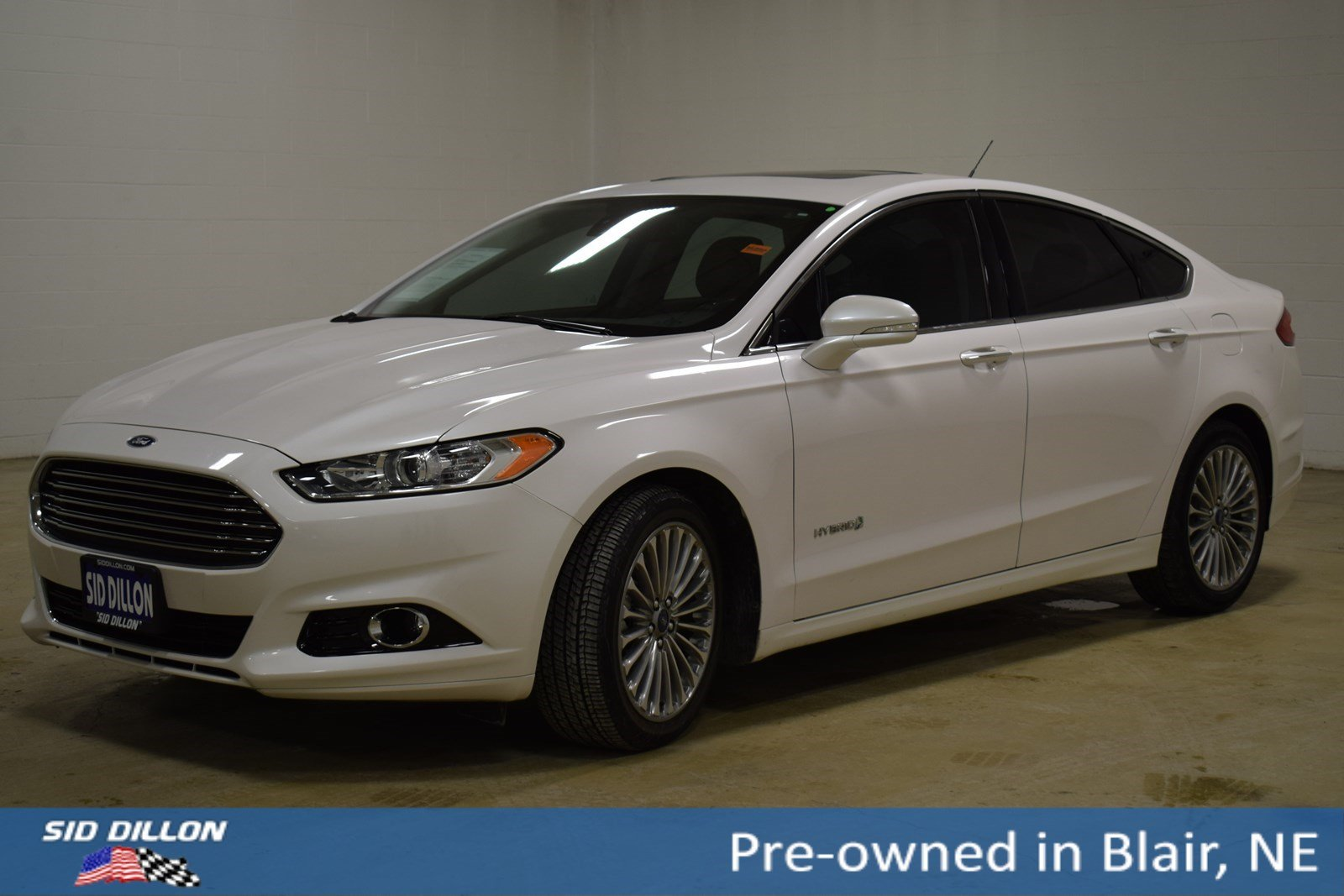 Pre-Owned 2013 Ford Fusion Titanium Hybrid
